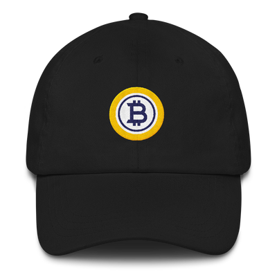 Bitcoin Gold Dad hat