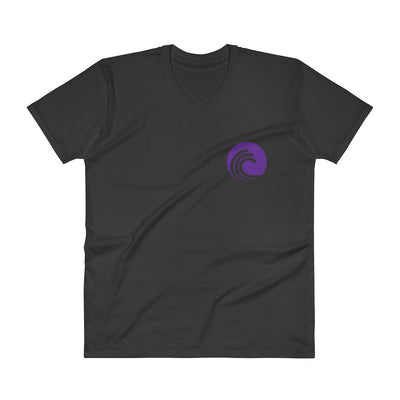 BitTorrent Fashion V-Neck T-Shirt with Tear Away Label - Sticky Crypto