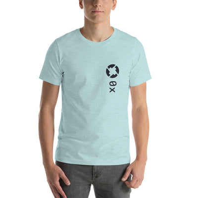 0x ZRX Short-Sleeve Unisex T-Shirt - Sticky Crypto