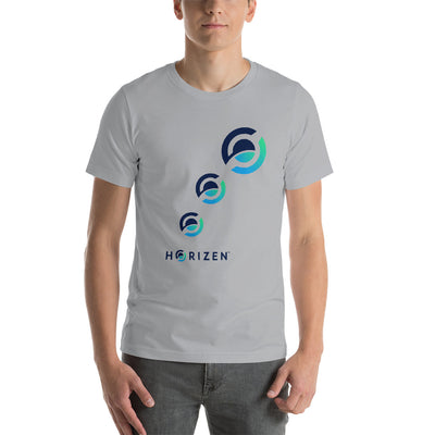 Horizen Short-Sleeve Unisex T-Shirt - Sticky Crypto