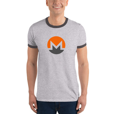 Monero Ringer Tee with Tear Away Label