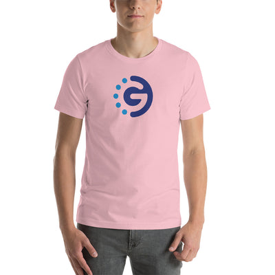 GoChain Unisex Short Sleeve Jersey T-Shirt with Tear Away Label - Sticky Crypto