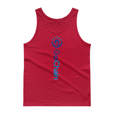 GoChain Tank top - Sticky Crypto