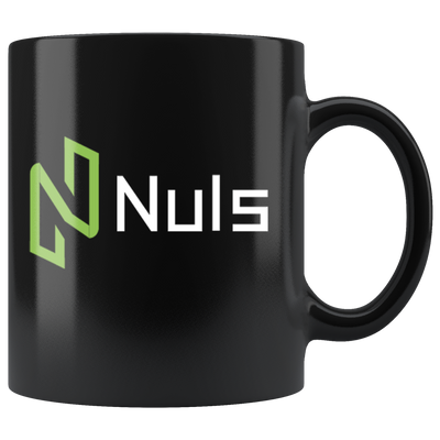 Nuls Coffee Mug -- All Black