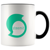 Steemit Accent Mug