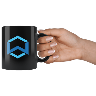 Wanchain Coffee Mug -- All Black