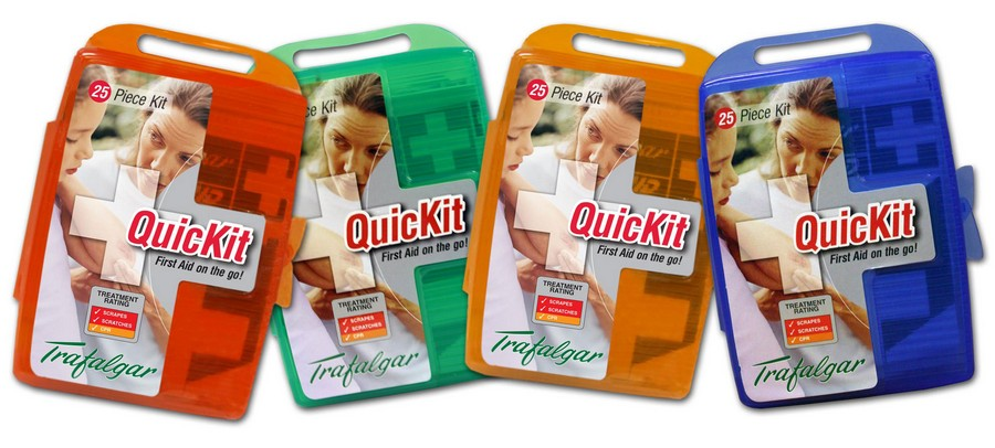 QuicKit First Aid Kit