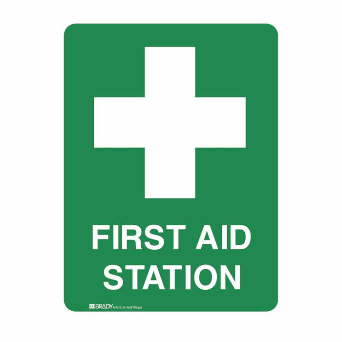 First Aid Sign - First Aid Station