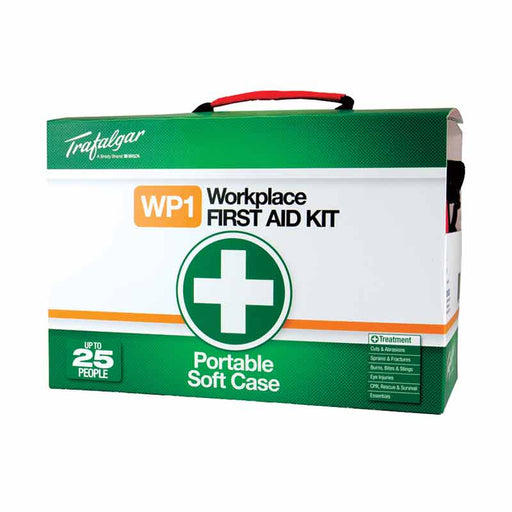 Workplace First Aid Kit - Portable (Soft Case)