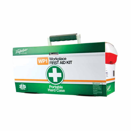 Workplace First Aid Kit - Portable (Hard Case)