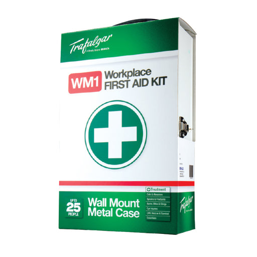 National Workplace First Aid Kits - Wall Mount (Metal Case)