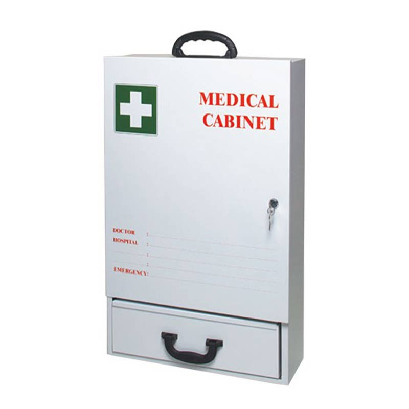 FIRST AID CABINET EMPTY METAL X/LARGE 3F