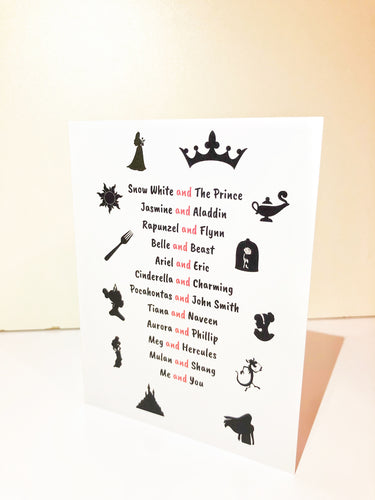 Royal Couple Love Greeting Card
