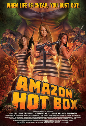 Amazon Hot Box Theatrical Poster