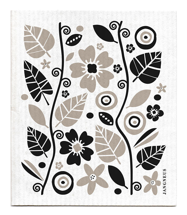 Eco-friendly Jangneus Swedish Dish Cloth - Garden Vine Design