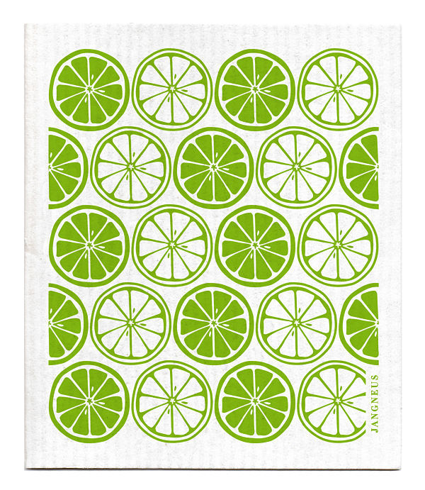 Eco-friendly Jangneus Swedish Dish Cloth - Citrus Design