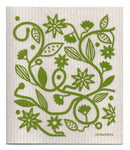 Eco-friendly Jangneus Swedish Dish Cloth - Garden Doodle Design