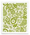Eco-friendly Jangneus Swedish Dish Cloth - Paisley Design