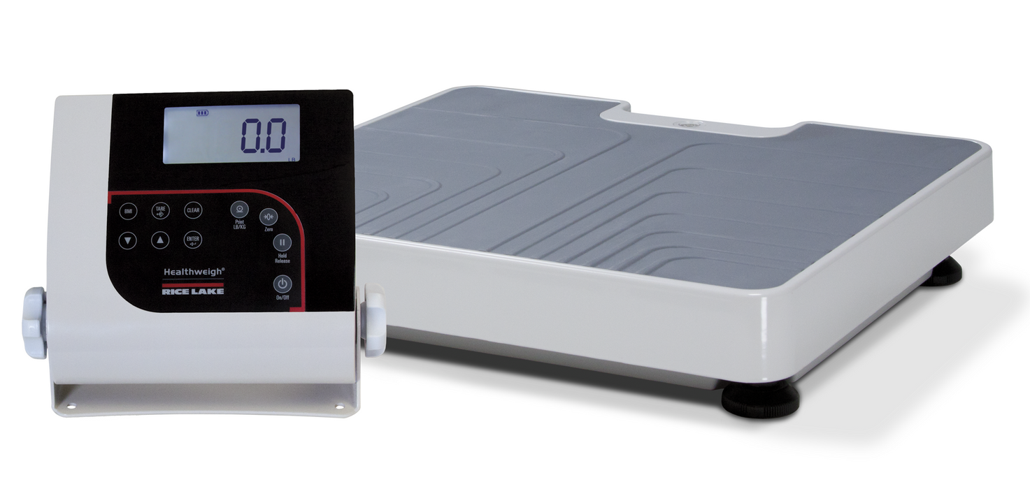 Rice Lake 150-10-7 Digital Physician Scale Floor-Level - Discount Scale
