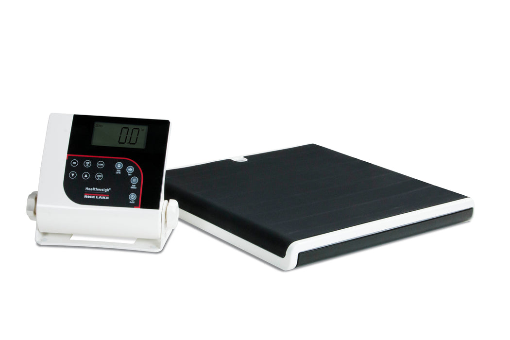 Rice Lake 160-10-7N Digital Athletic Scale Low-Profile - Discount Scale