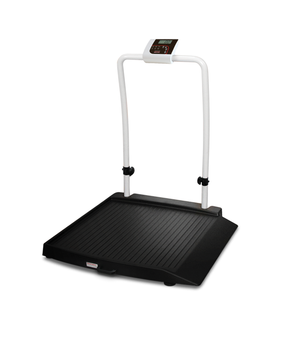 Rice Lake 350-10-2 Single-Ramp Wheelchair Scale - Discount Scale