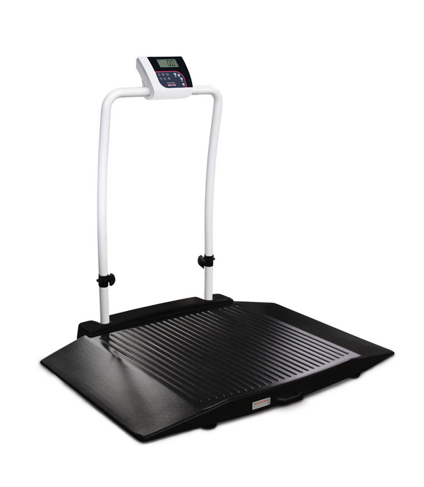 Rice Lake 350-10-3 Dual-Ramp Wheelchair Scale - Discount Scale