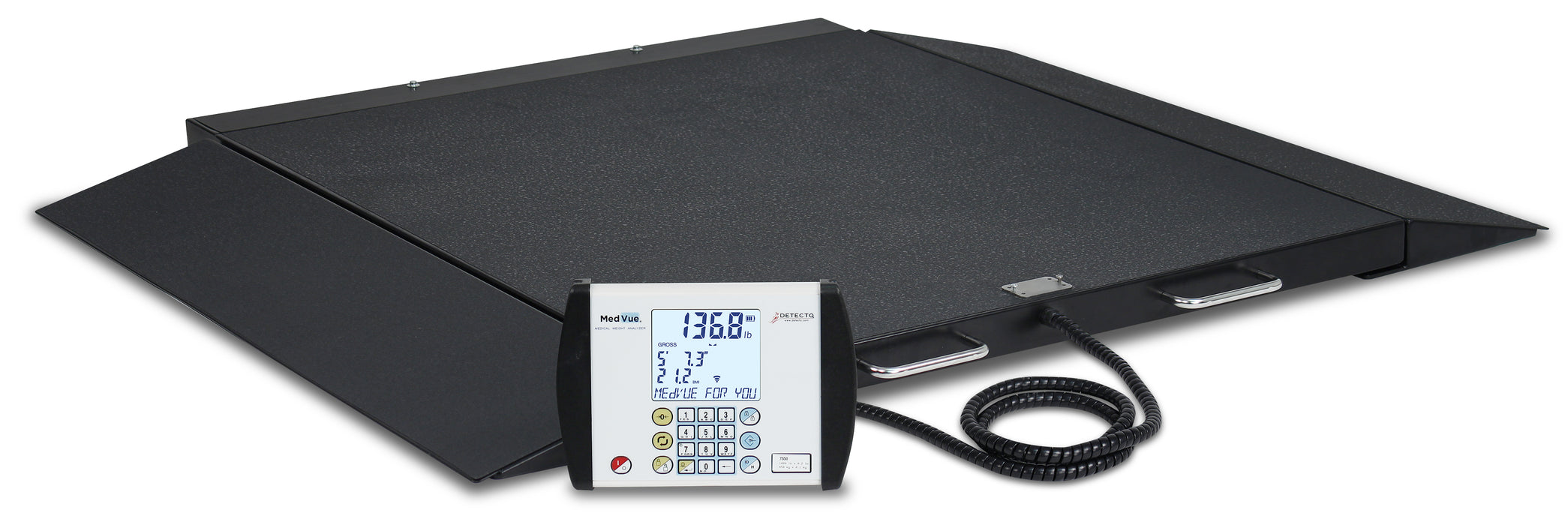 Detecto 6500 Portable Wheel Chair Scale