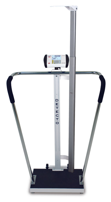 Detecto 6854DHR Digital Height Rod Bariatric Scale