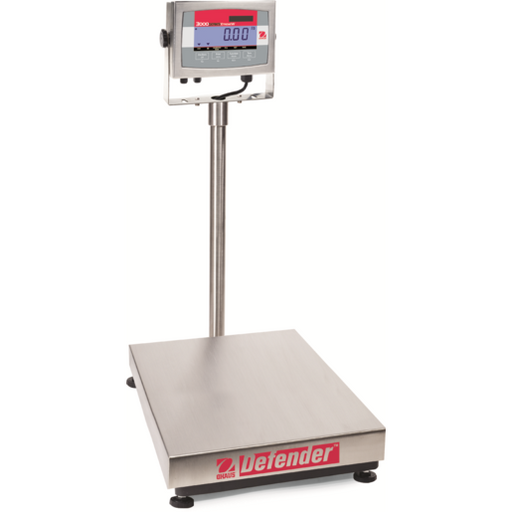 Ohaus Defender 3000 Washdown Bench Scale - Discount Scale