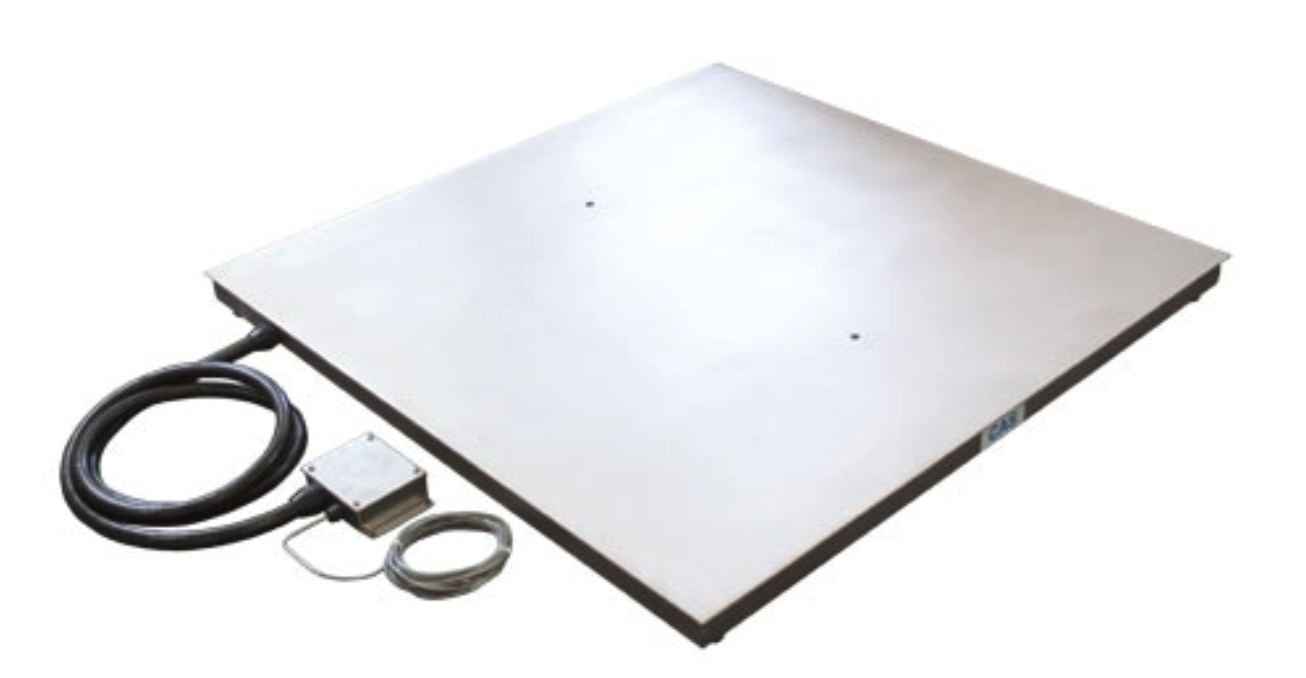 CAS HFS Stainless Steel Floor Scale - Discount Scale