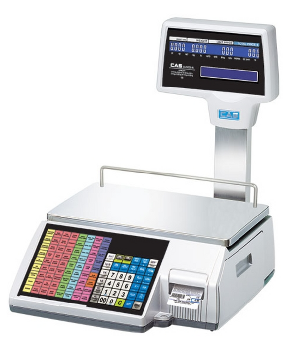 CAS CL5500R Label Printing Scale - Discount Scale