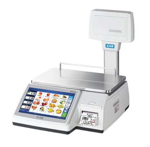 CAS CL7200 Touch Screen Label Printing Scale - Discount Scale