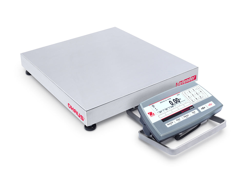Ohaus Defender 5000 Low-Profile Bench Scale (D52) - Discount Scale