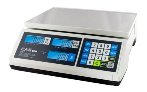 CAS ER Jr Price Computing Scale - Discount Scale