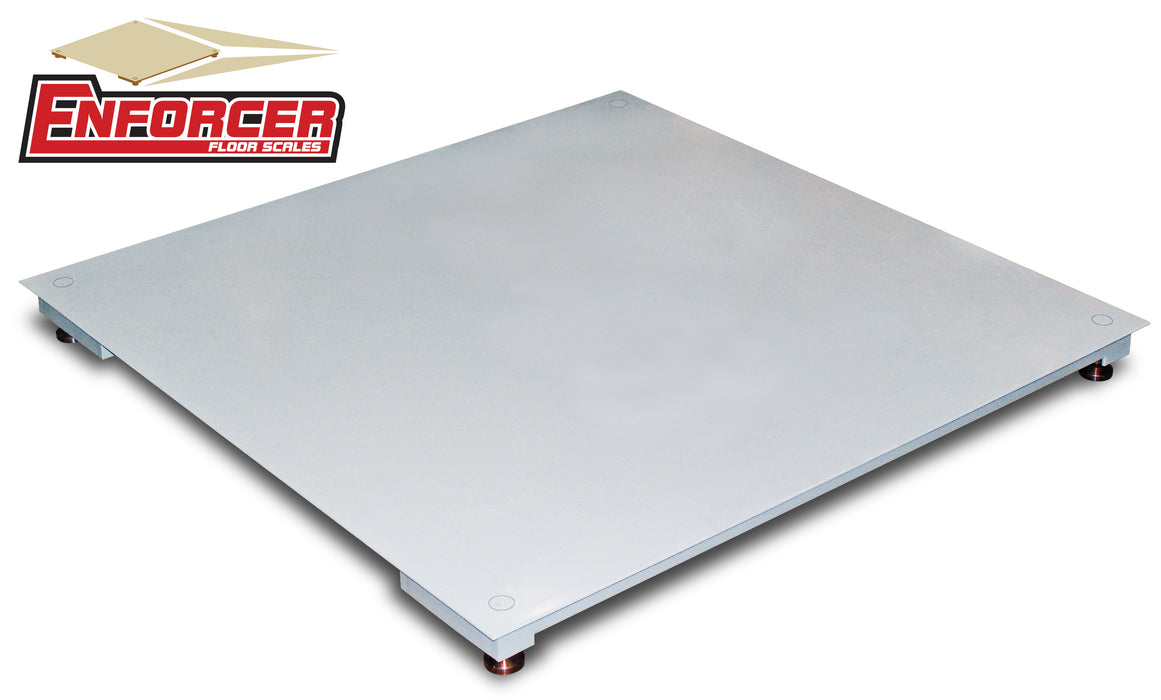 Cardinal Enforcer Frameless Floor Scales with Smooth Decks