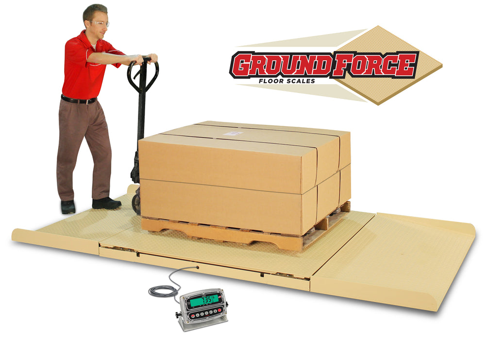 Cardinal GroundForce Full-Frame Extra Heavy-Duty Floor Scales