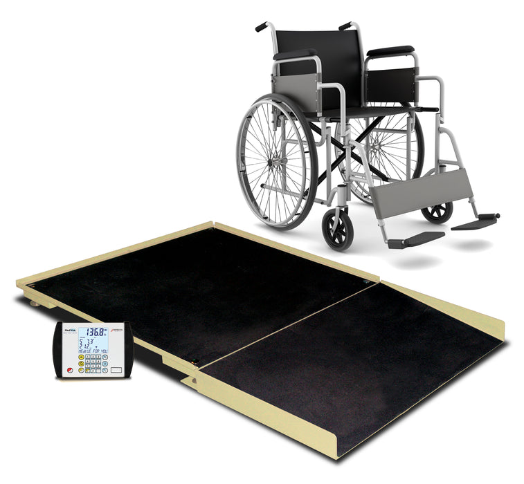Detecto FHD Stationary Wheel Chair Scale