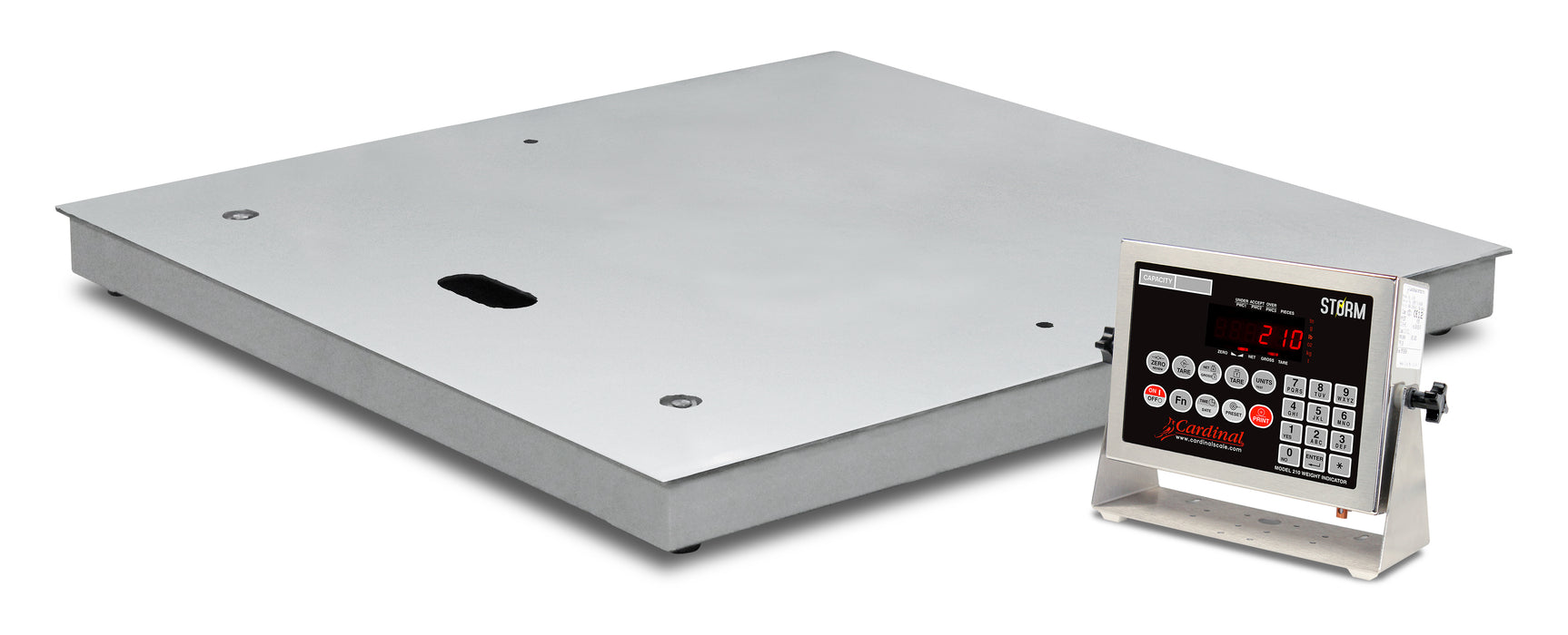Cardinal Electronic Floor Scales with Gas-Assisted Lift Decks