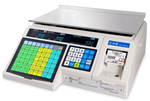 CAS LP1000N Label Printing Scale - Discount Scale