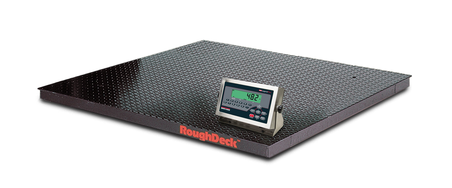 Rice Lake Rough-n-Ready Floor Scale System - Discount Scale