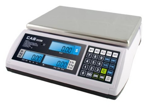 CAS S-2000 Jr Price Computing Scale - Discount Scale