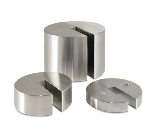 ASTM Class 5/7 Metric Stainless Steel Individual Slotted Weights