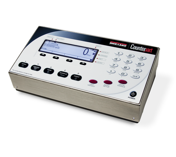 Rice Lake Counterpart® Configurable Counting Scale