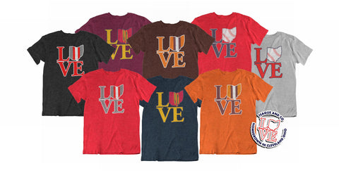 various colors 326ad f9503 LOVE w Ohio as O Cleveland Basketball Maroon Heather Tri ...