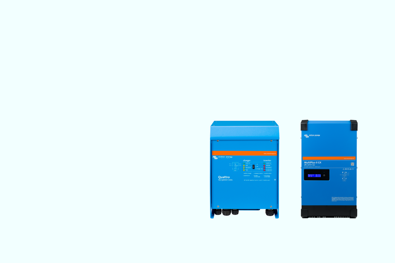 Image of our victron energy inverters