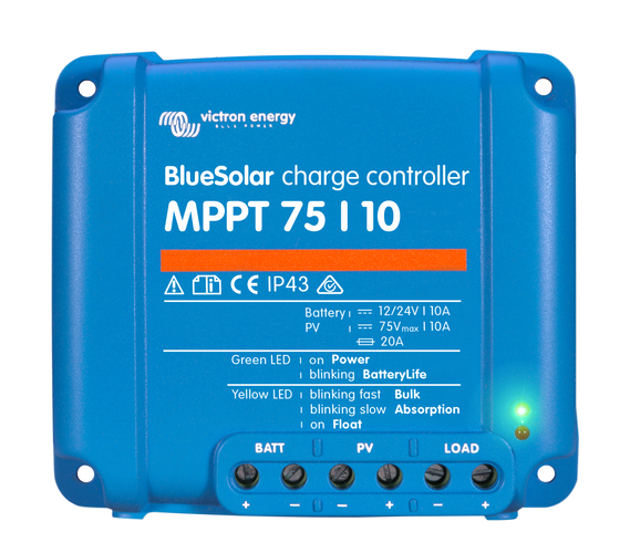 Victron Energy MPPT 75/15 BlueSolar Solar Charge Controller