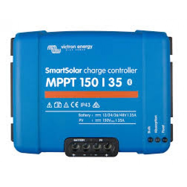 Victron Energy MPPT 150/35 SmartSolar Solar Charge Controller