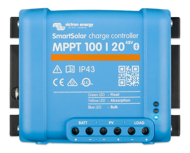 Victron Energy MPPT 100/20 20A SmartSolar Solar Charge Controller 48v