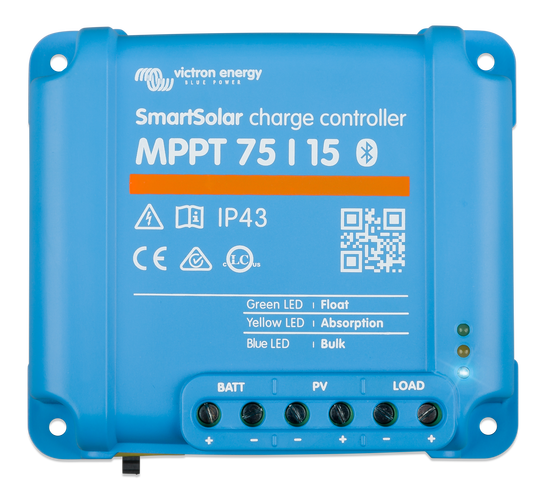 Victron Energy MPPT 75/15 SmartSolar Solar Charge Controller Tr