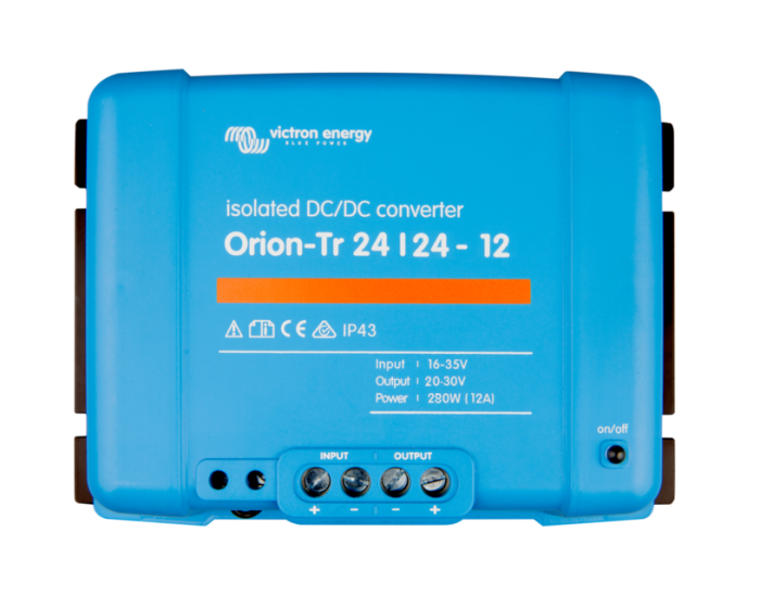 Victron Orion-Tr Smart 24/24-12A (280W) Isolated DC-DC charger